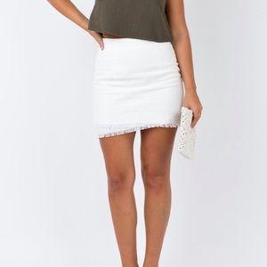 NWT princess Polly Kordin mini skirt